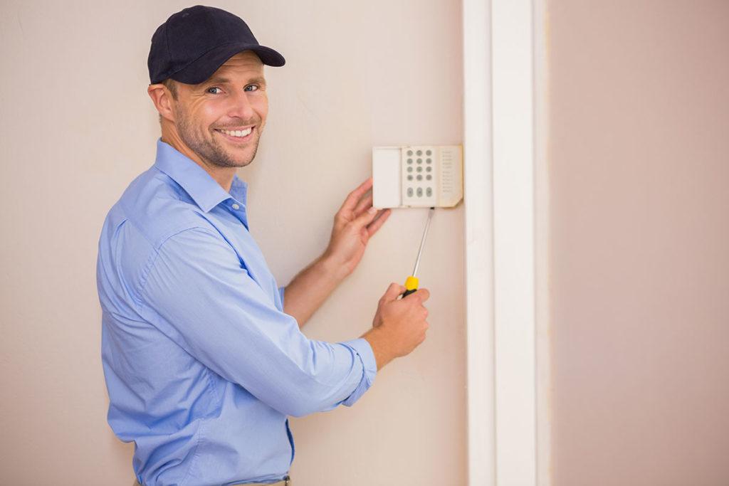 Tecnico installatore impianto di allarme